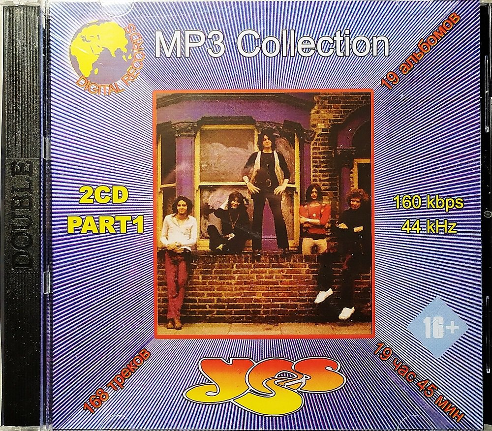 Yes Part 1 - Collection - 2CD - Rare - 19 albums, 168 songs - Jewel case