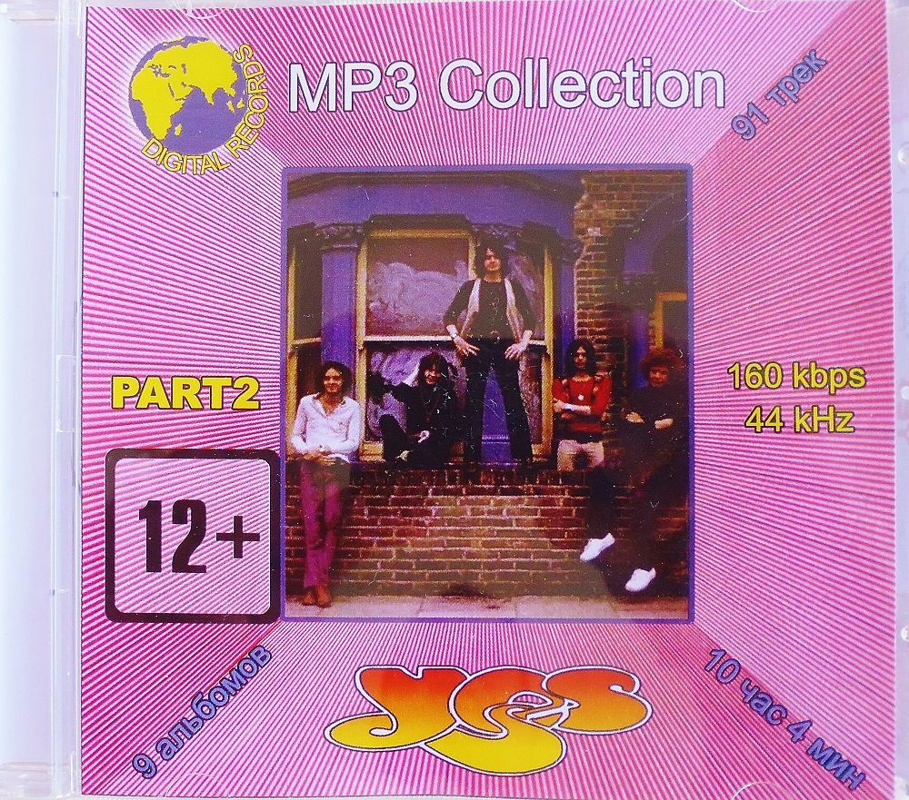 Yes Part 2 - Collection - 1CD - Rare - 9 albums, 91 songs - Jewel case