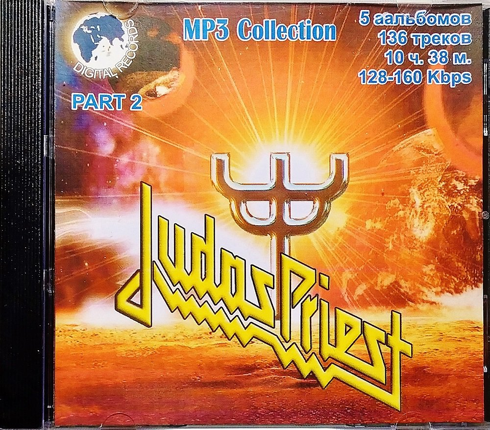 Judas Priest Part 2 - Collection - 1CD - Rare - 5 albums, 136 songs - Jewel case
