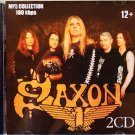 Saxon - Collection - 2CD - Rare - 22 albums, 271 songs - Jewel case