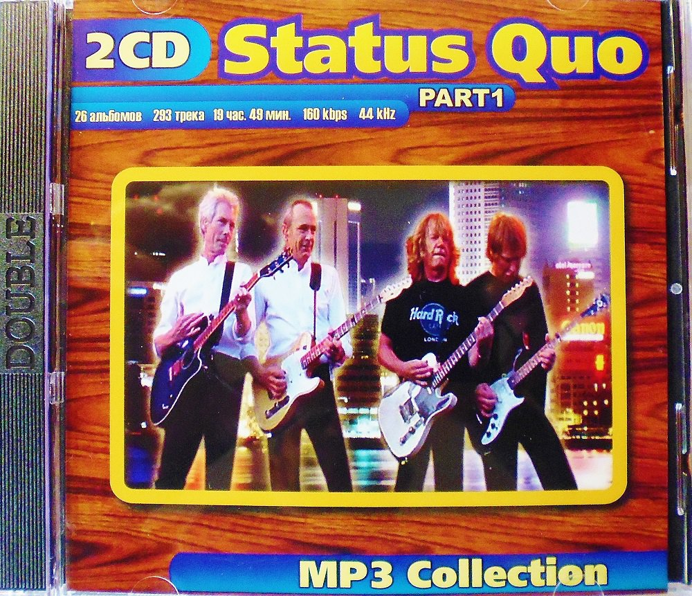 Status Quo - Part 1 - Collection - 2CD - Rare - 26 albums, 293 songs - Jewel case