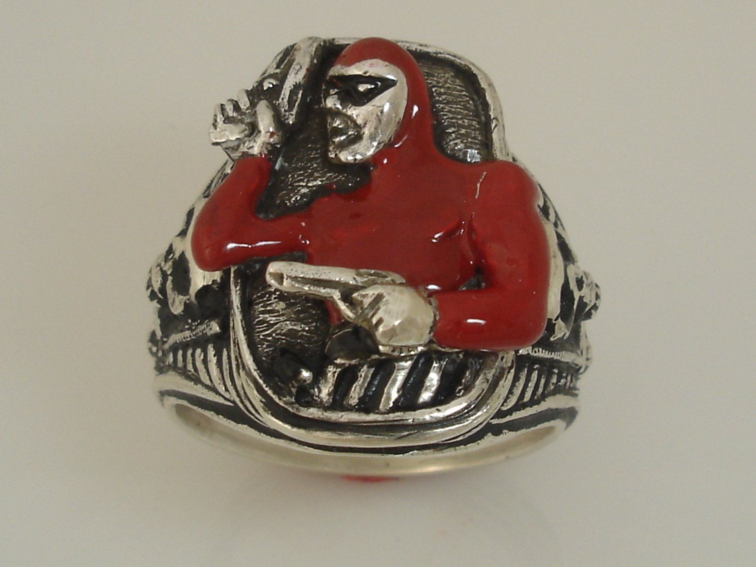 The Phantom Colt .45 ring Sterling Silver Large
