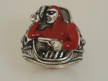 The Phantom Colt .45 ring Sterling Silver Large