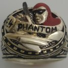 The F4 Phantom Lee Falk Mens Sterling Silver Ring
