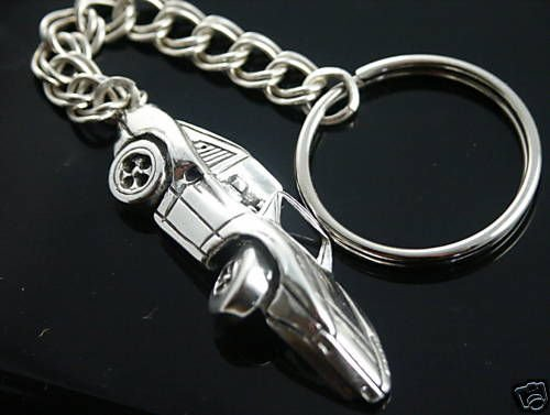 Ferrari mens Key ring chain......Sterling Silver