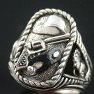 Last Texas Ranger Silver Bullet  sterling silver ring