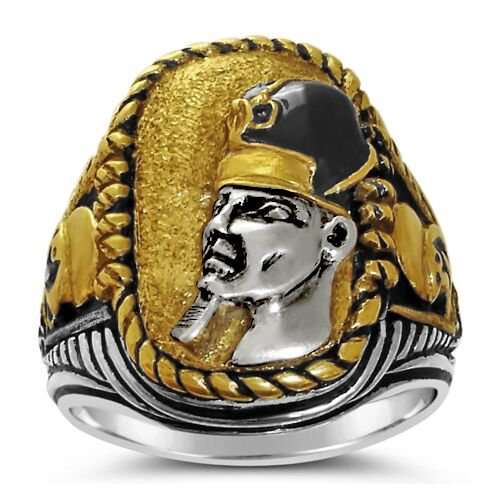 RAMSES the Great Battle of Kadesh ring Sterling Silver Large