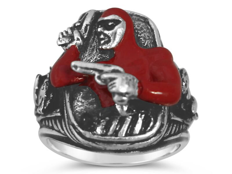 The Phantom Colt .45  ring II Sterling Silver Large