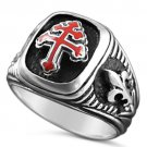 Special Forces Cross of Lorraine ring sterling silver 925