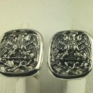 American eagle cufflinks sterling silver
