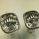 10k Gold Flamed sterling silver Menorah cufflinks