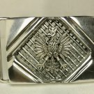 Polish eagle (Orzel) Gents Belt buckle sterling silver