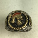 10 karat Gold Centurion Mens sterling silver Pinky ring