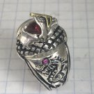 Knight of Hearts Dragon sterling silver  signet ring