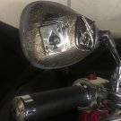 Custom Dead Man's Hand skull Motorcycle Mirrors pair