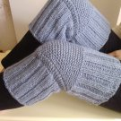39 COLORS/ Size L (up to 23 in)  Handmade Knitted Kneepads Therapeutic Leg Warmers Knee Socks