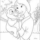 Coloring ebook for kids - mulan
