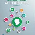 Managerial Accounting 5th Edition by Braun, Tietz 978-0134128528