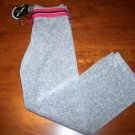 Juicy Couture Little Girls Velour Pants & Belt Size 12