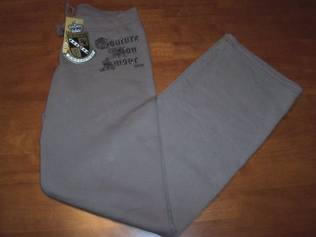 Juicy Couture NWT Tan Sweat Pants Size Small