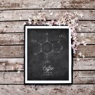 Distressed Coffee Chalkboard Printable Wall Art