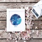 Pisces Constellation Star Sign Printable Wall Art