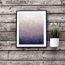 Purple Abstract Printable Wall Art