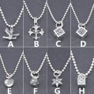 Chrome Hearts Cross heart Necklace S925 Sterling Silver rock handmade Necklace