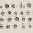Chrome Hearts cross horseshoe print dagger Earring,S925 sterling silver handmade earring