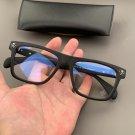 Chrome Hearts Skull personality black frame glasses for men and women nearsighted glasses frame