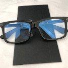 Chrome Hearts Retro fashion casual cross glasses near-sighted Roman letters glasses frame