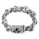 Chrome Hearts Cross Bracelet S925 Sterling Silver rock handmade Hip hop Bracelet