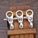 Chrome Hearts Key buckle S925 Sterling Silver handmade cross Key buckle