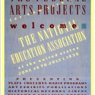 The Federal Arts Project, 1938.  Art Print Taken From A Vintage Concert / Theatre Poster