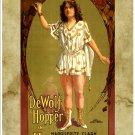 "DeWolf Hopper in ""Happyland"".  Art Print Taken From A Vintage Concert / Theatre Poster"