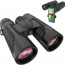12x42 Binoculars for Adults with Universal Phone Adapter
