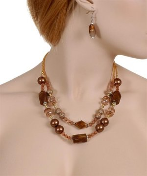 Code#NL-9835: Bead Necklace