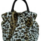 ANIMAL PRINT FASHION HANDBAG