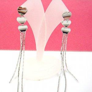 Greek Silver Earring