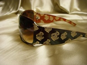 BR Fashion Sunglasses 22116 BROWN