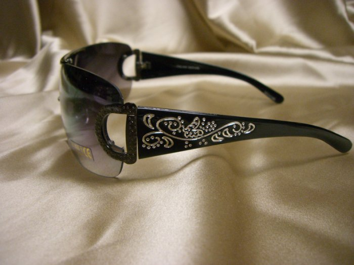 BR Fashion Sunglasses 14048 BLACK