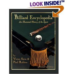 Billiard encyclopedia Book Victor Stein Rubino History of Pool game 2nd edition