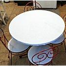 Ice Cream Polar Table And Four Chairs