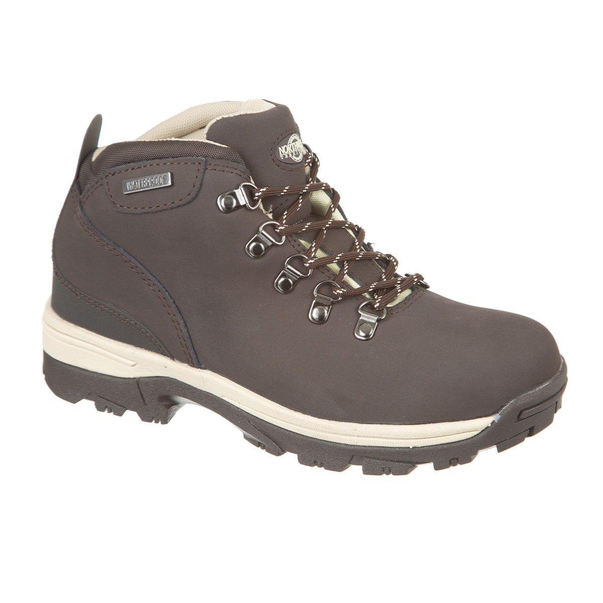 Northwest Territory Women's Waterproof Leather Walking and Hiking Boot I Trek Brown (UK SIZES 3-8)