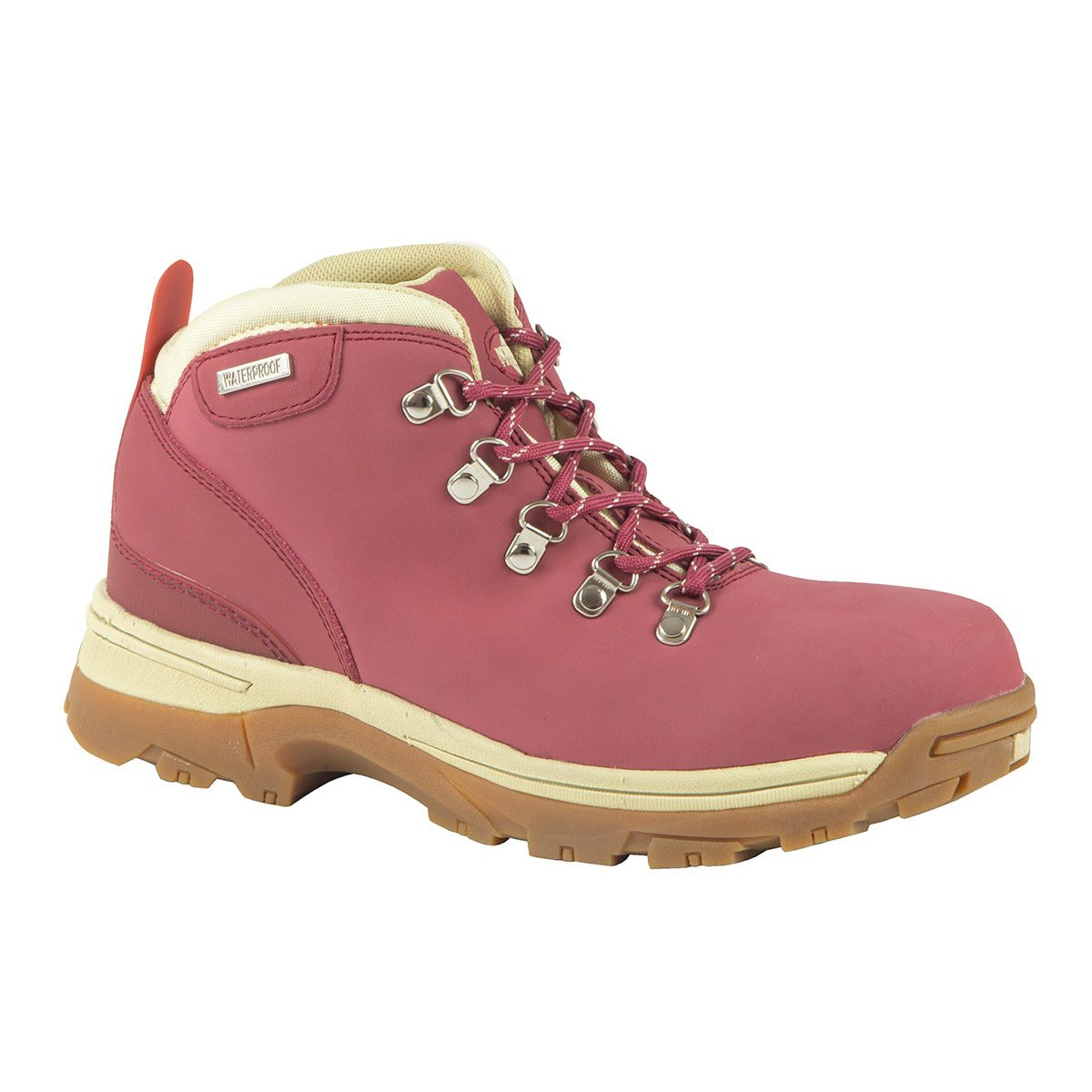 Northwest Territory Women's Waterproof Leather Walking and Hiking Boot I Trek Grey (UK SIZES 3-8)
