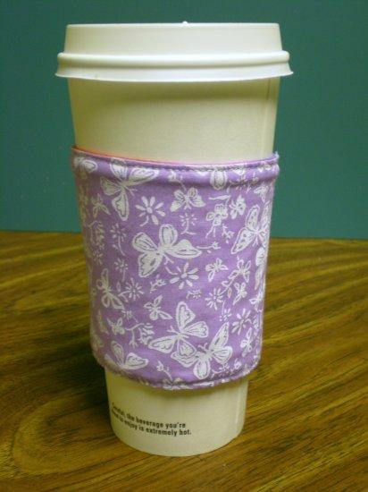 Butterfly Coffee Cozy
