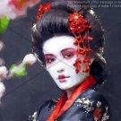 Geisha in Watercolors Digital Artwork