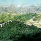 Great Wall of China Version 1 Abstract Artwork