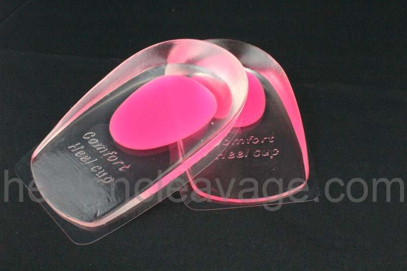 Gel Heel Cups Pain Relieve Cushion Shoe Inserts for Women
