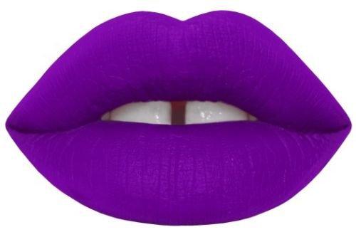 Lime Crime Velvetines Pansy Matte Purple Vegan Lipstain Vegan